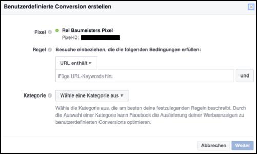 bp16-benutzerdefinierte-conversion-eingabe