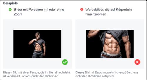 Facebook Werberichtlinien