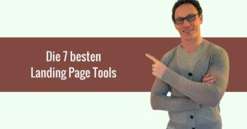Die 7 besten Landing Page Tools