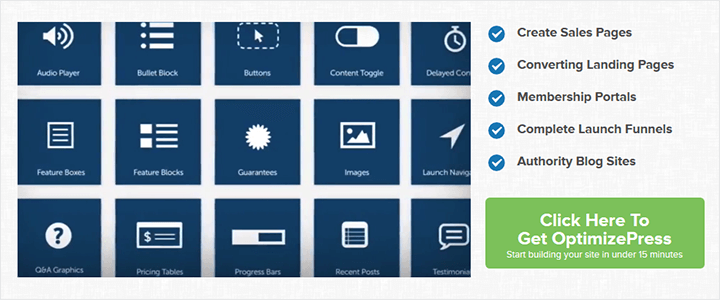 Optimizepress Screenshot