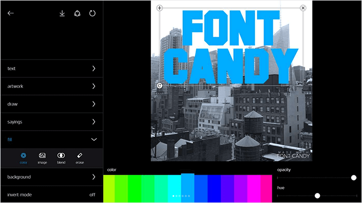 Font Candy App