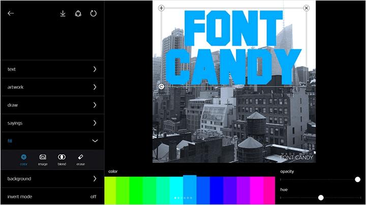 Font Candy App