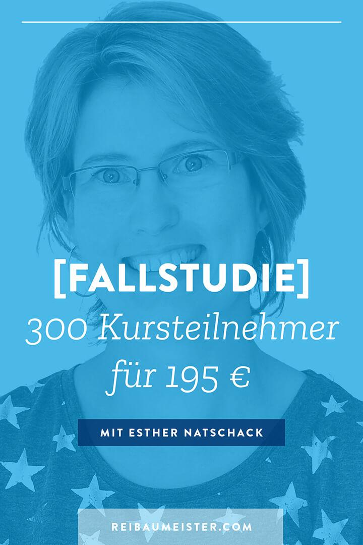 [Fallstudie] 300 Kursteilnehmer für 195 €