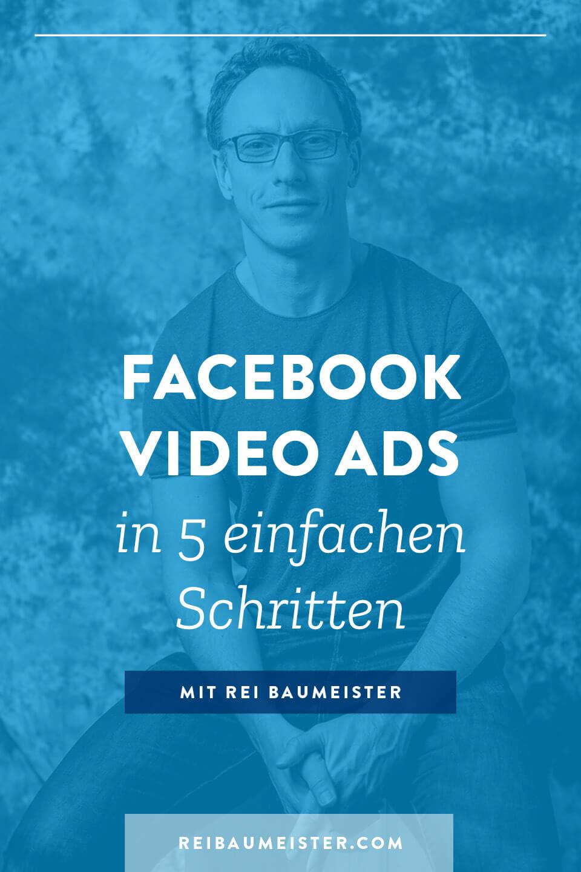 Facebook Video Ads in 5 einfachen Schritten