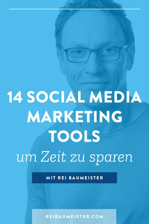 14 Social Media Marketing Tool um Zeit zu sparen