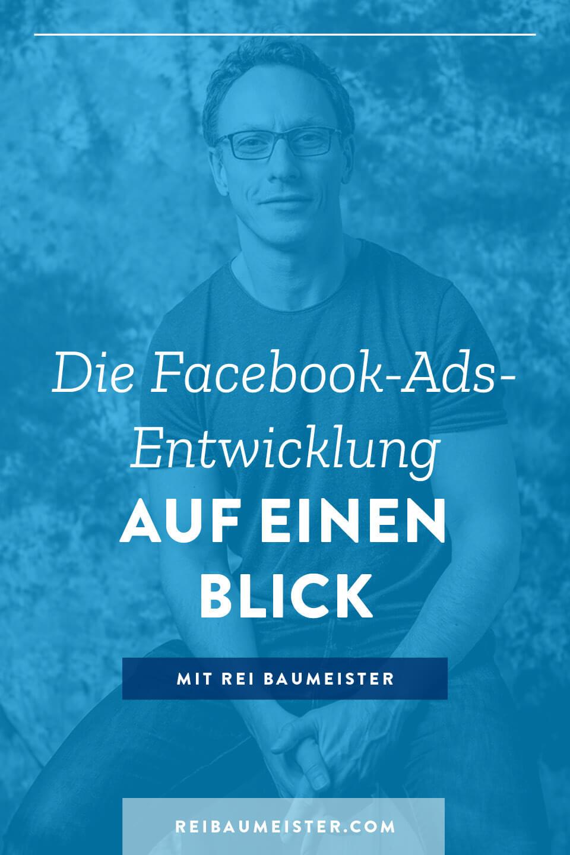 Die Facebook-Ads-Entwicklung auf einen Blick