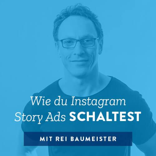 Wie du Instagram Story Ads schaltest