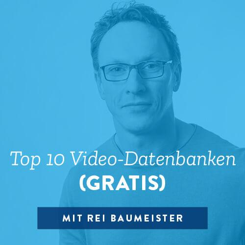 Top 10 Video-Datenbanken (GRATIS)