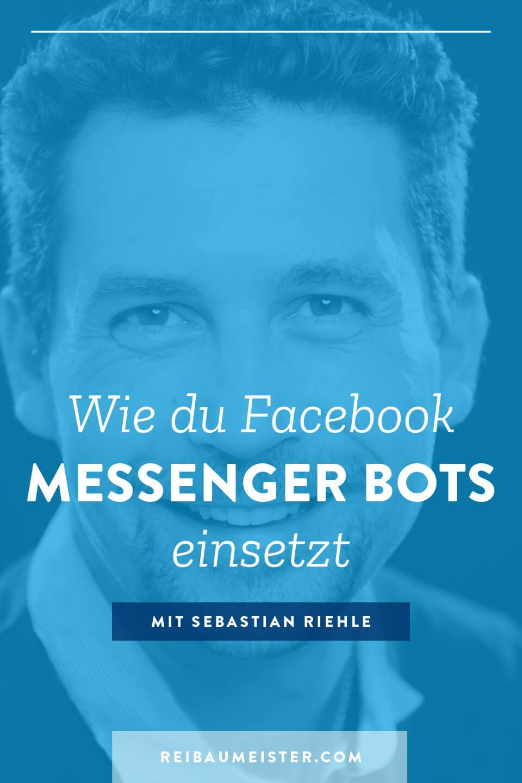 Wie du Facebook Messenger Bots einsetzt