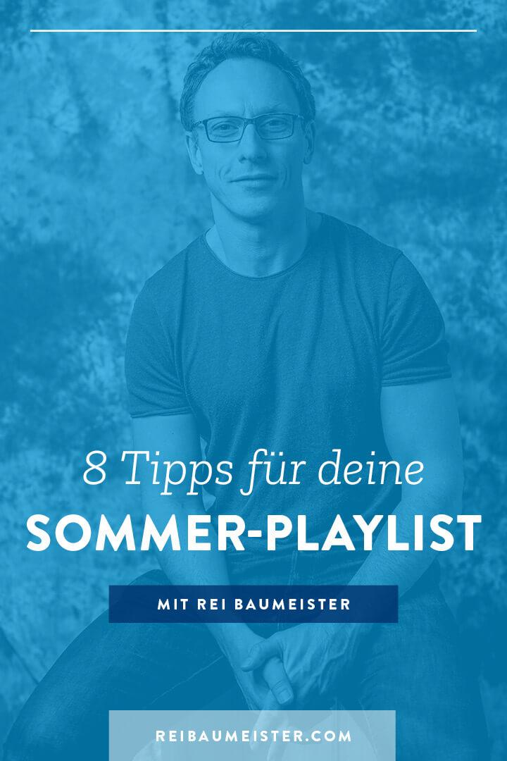8 Tipps für deine Sommer-Playlist