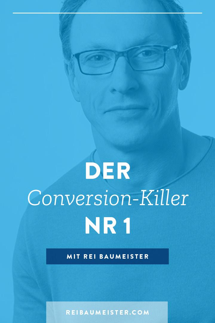 Der Conversion-Killer Nr. 1