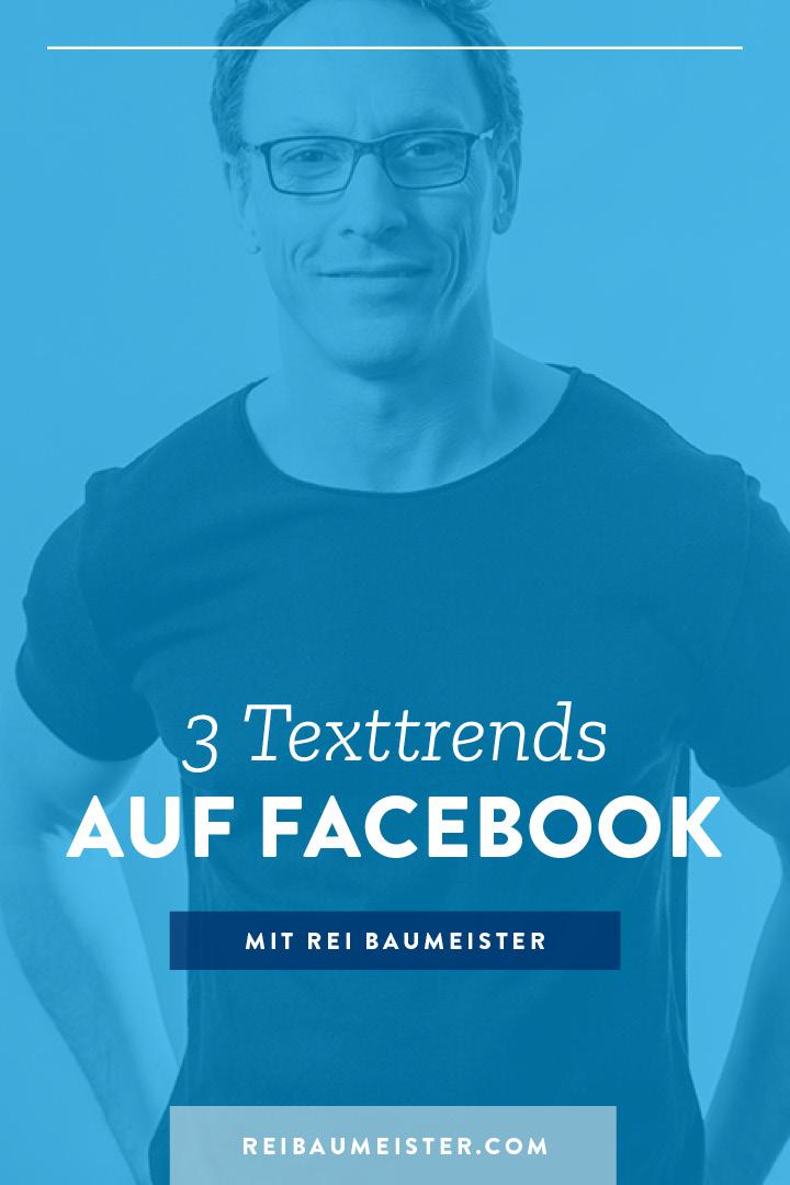 3 Texttrends auf Facebook