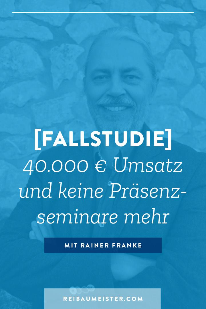 [Fallstudie] 40.000 € Umsatz und keine Präsenzseminare mehr