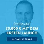 [Fallstudie] 30.000 € mit dem ersten Launch