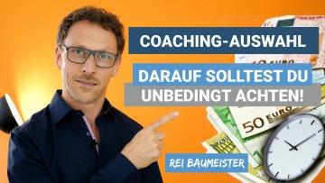 Worauf du bei der Auswahl eines Coachings achten solltest